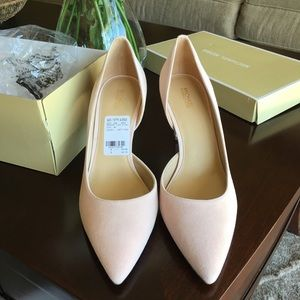 NWT Michael Kors soft pink heel never worn size 10